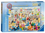 Ravensburger - FIT 4 NOTHING GYM Jigsaw  500 Pieces - Best Of British No14 - NEW